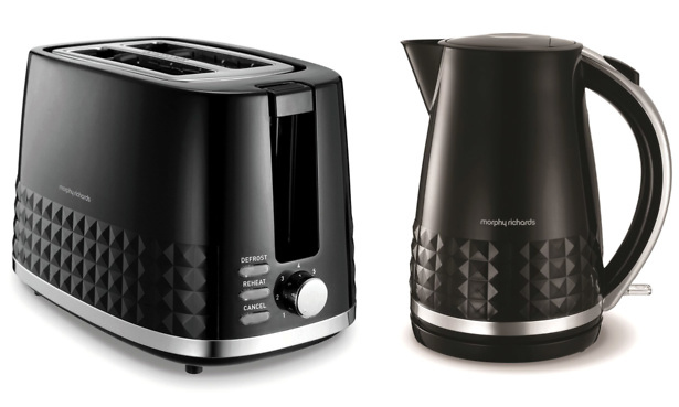 Dimensions kettle and toaster
