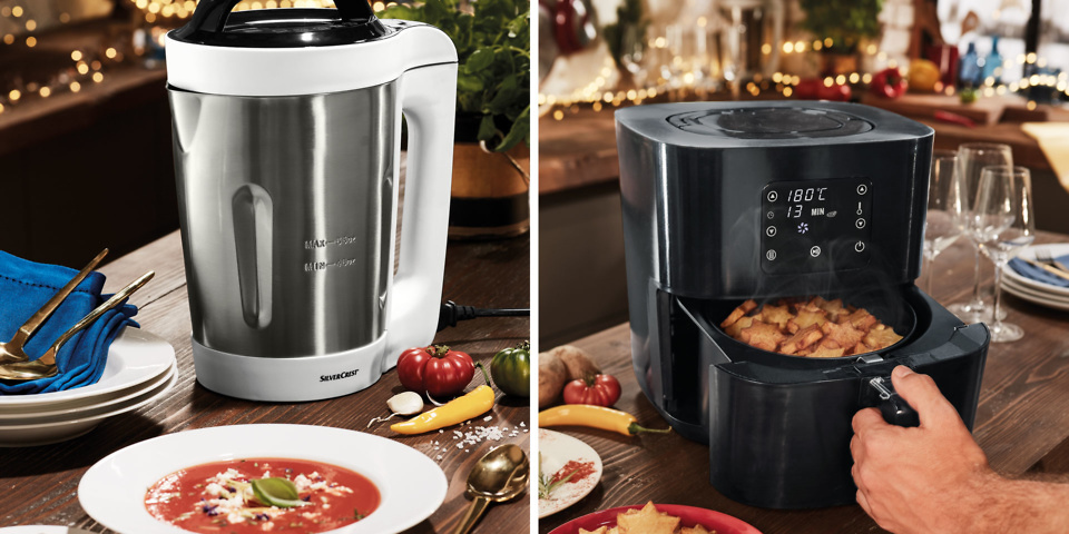 Lidl launches cheap soup maker and air fryer for Christmas