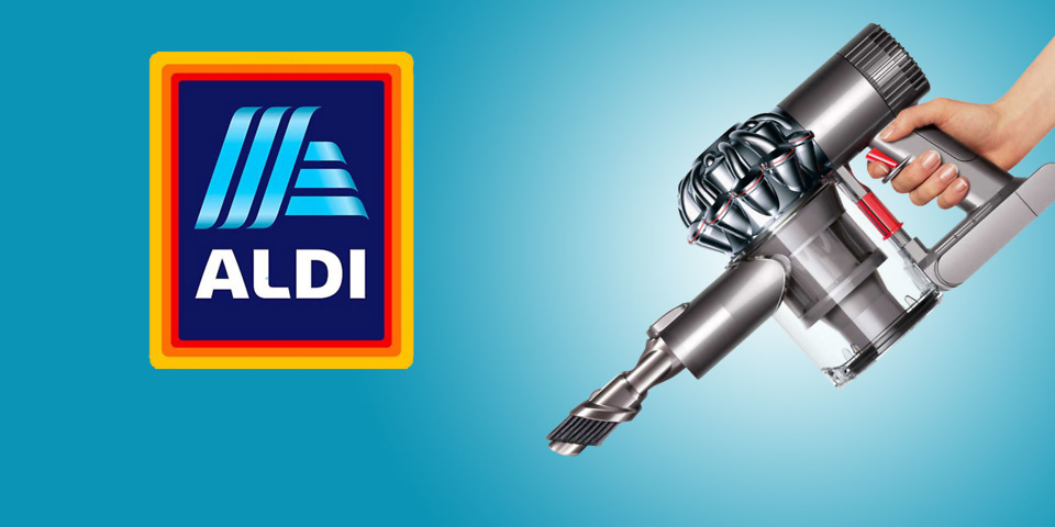 Bag yourself a half-price Dyson V6 vacuum cleaner bargain at Aldi