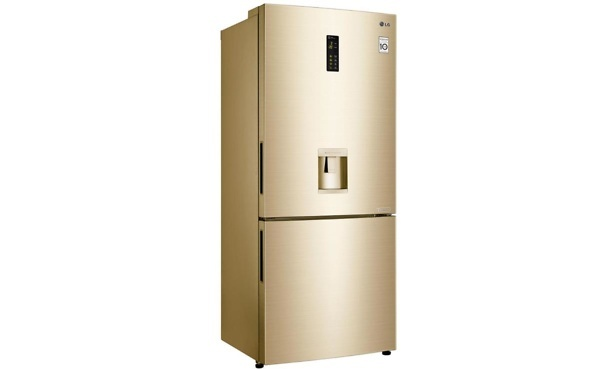 LG gold fridge freezer