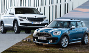 The latest SUVs reviewed – including Mini Countryman vs Skoda Karoq