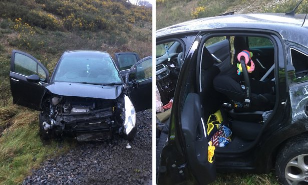 car seat safety crash Plymouth
