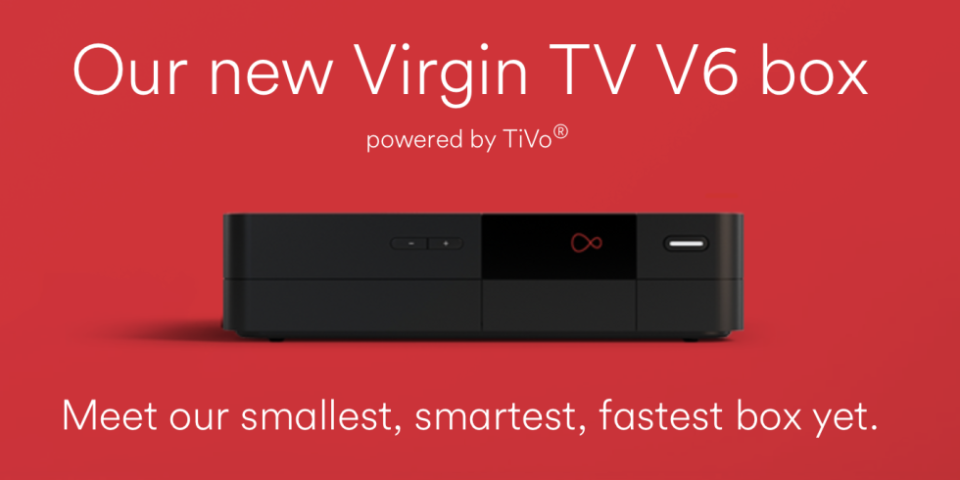 Virgin Media TV customers to receive free V6 4K set-top box