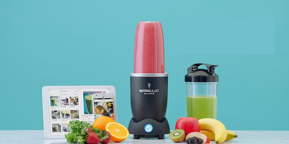 New smart Nutribullet uses an app to make the perfect smoothie