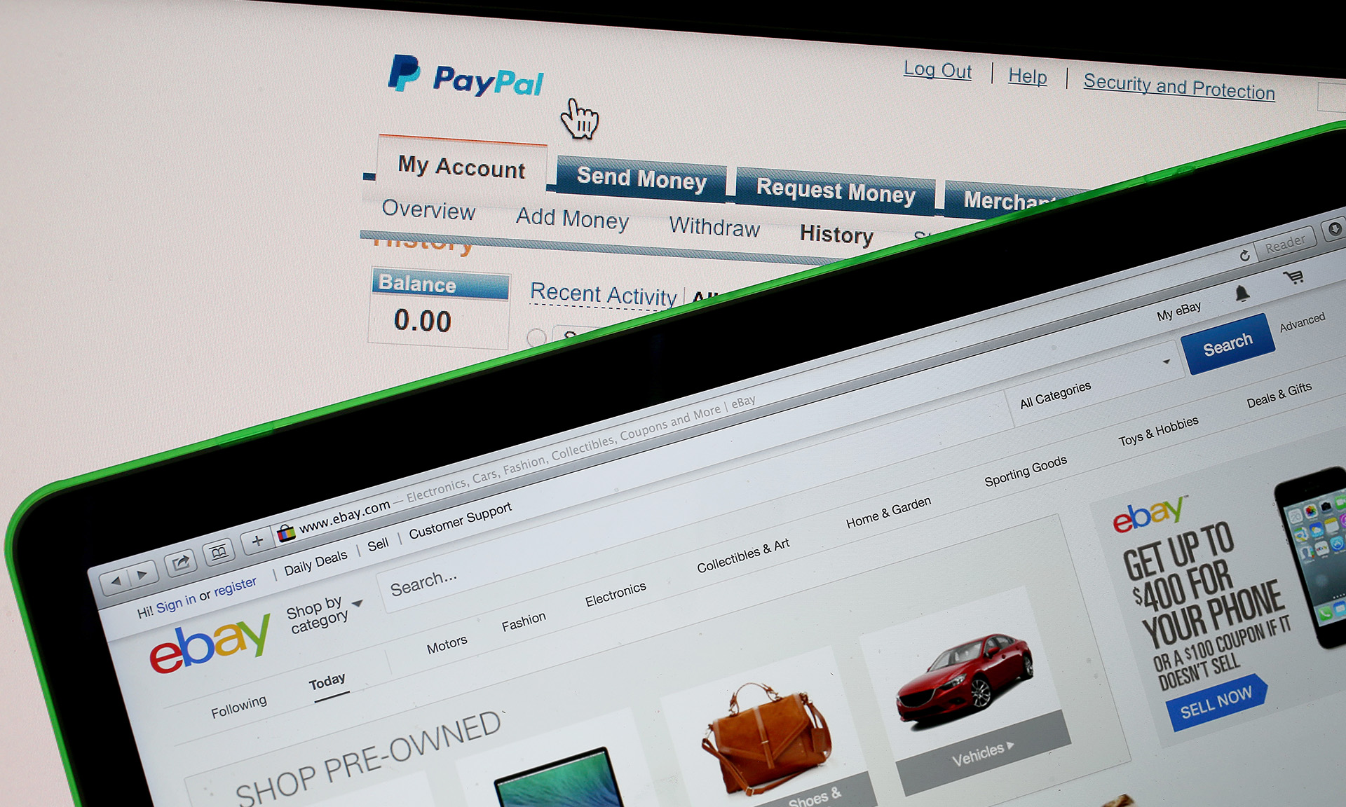How fast do you get your money from ebay to paypal