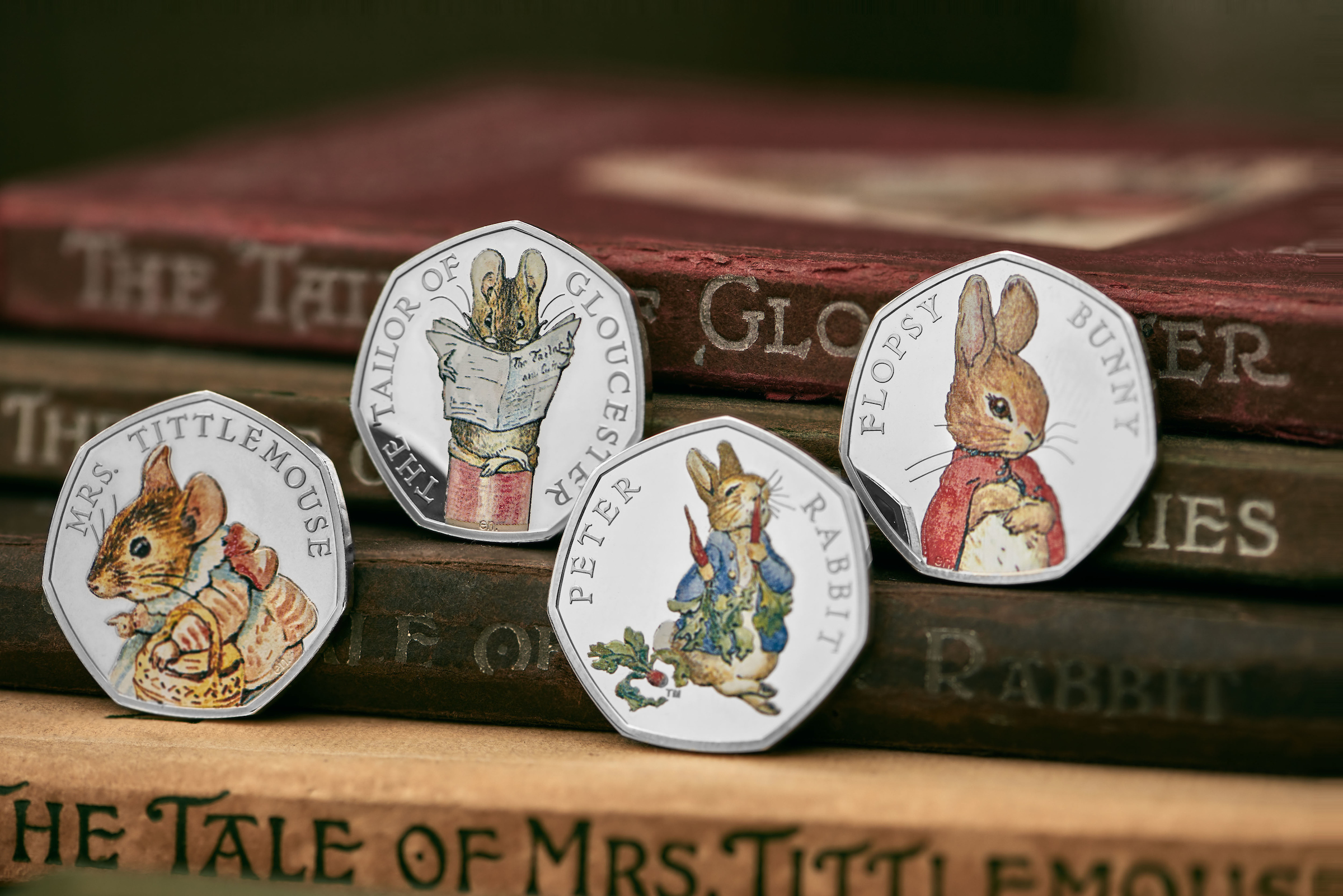 Four New Peter Rabbit 50p Coins For 2018 Which News