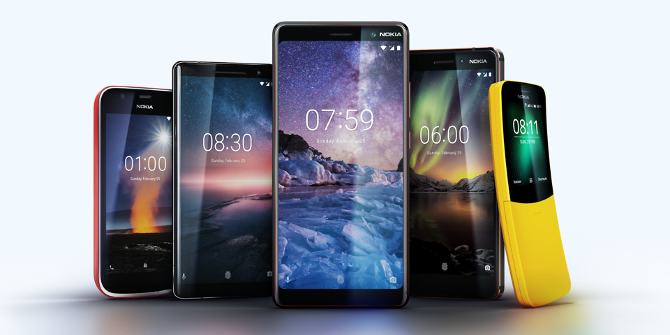 aca39e7b9b5896 The Nokia 8 Sirocco looks to be lightning fast. But if you don't want to  splash out, Nokia has some other options