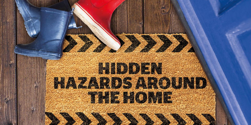 Five home hazards you should never ignore – and what you can do to stay safe