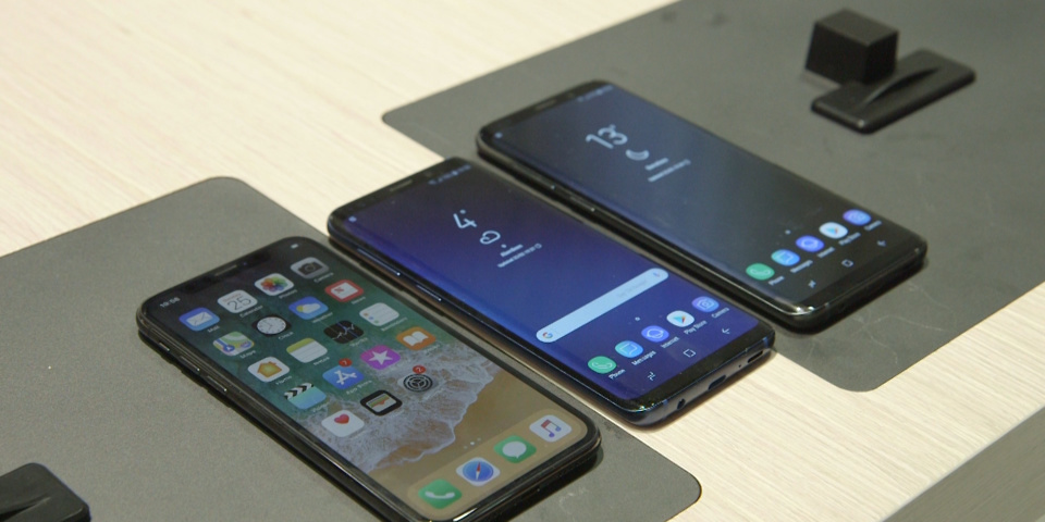 iPhone X vs Samsung Galaxy S9 and S9+: the showdown