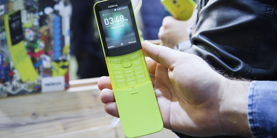 Revamped 'Matrix phone' Nokia 8110 takes on new phones from Doro