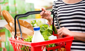 Which was the cheapest supermarket in May?