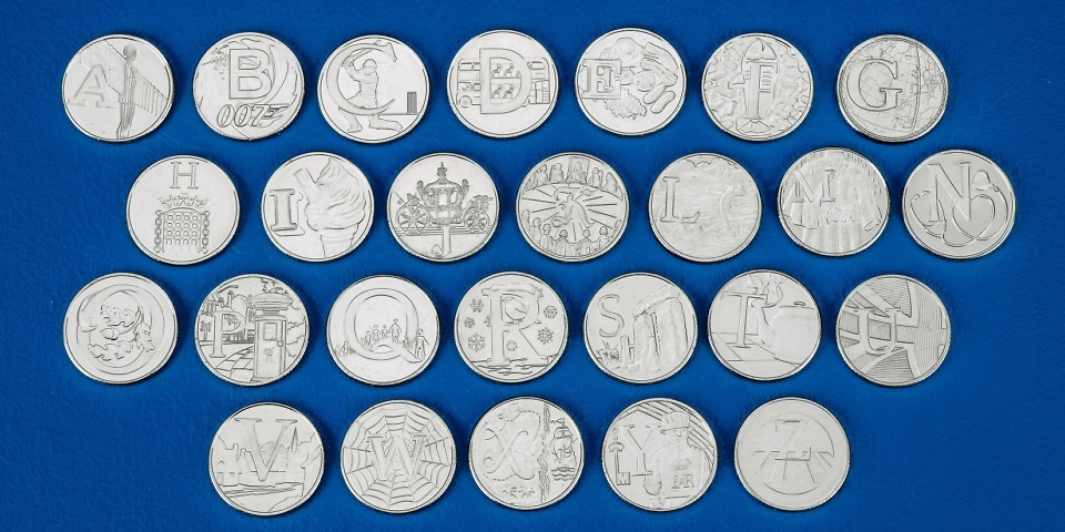 Rare new 10p coins: can you collect all 26 from A-Z?
