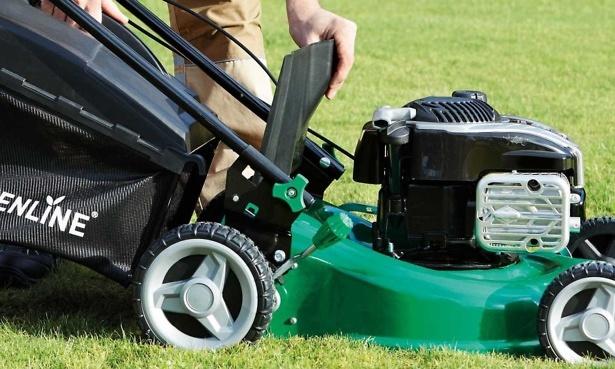 Aldi Gardenline self-propelled petrol lawn mower