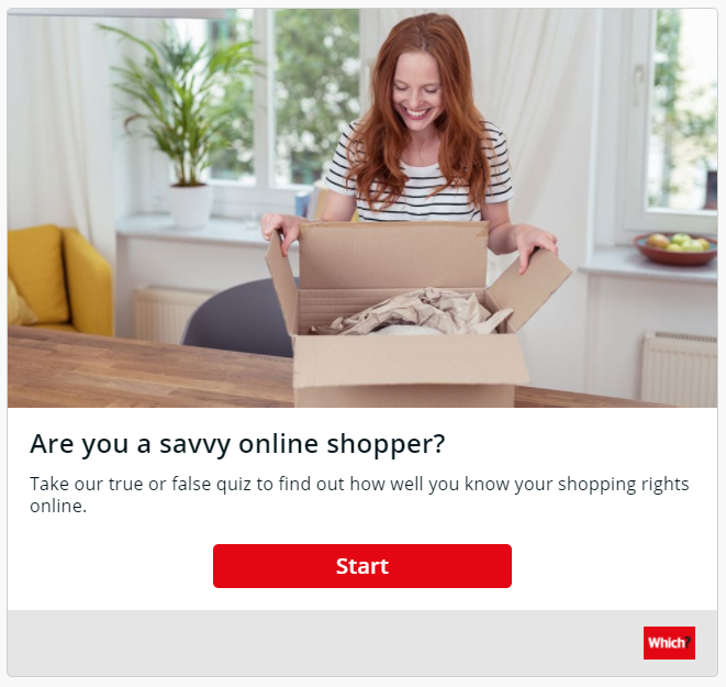 Are you a savvy online shopper?