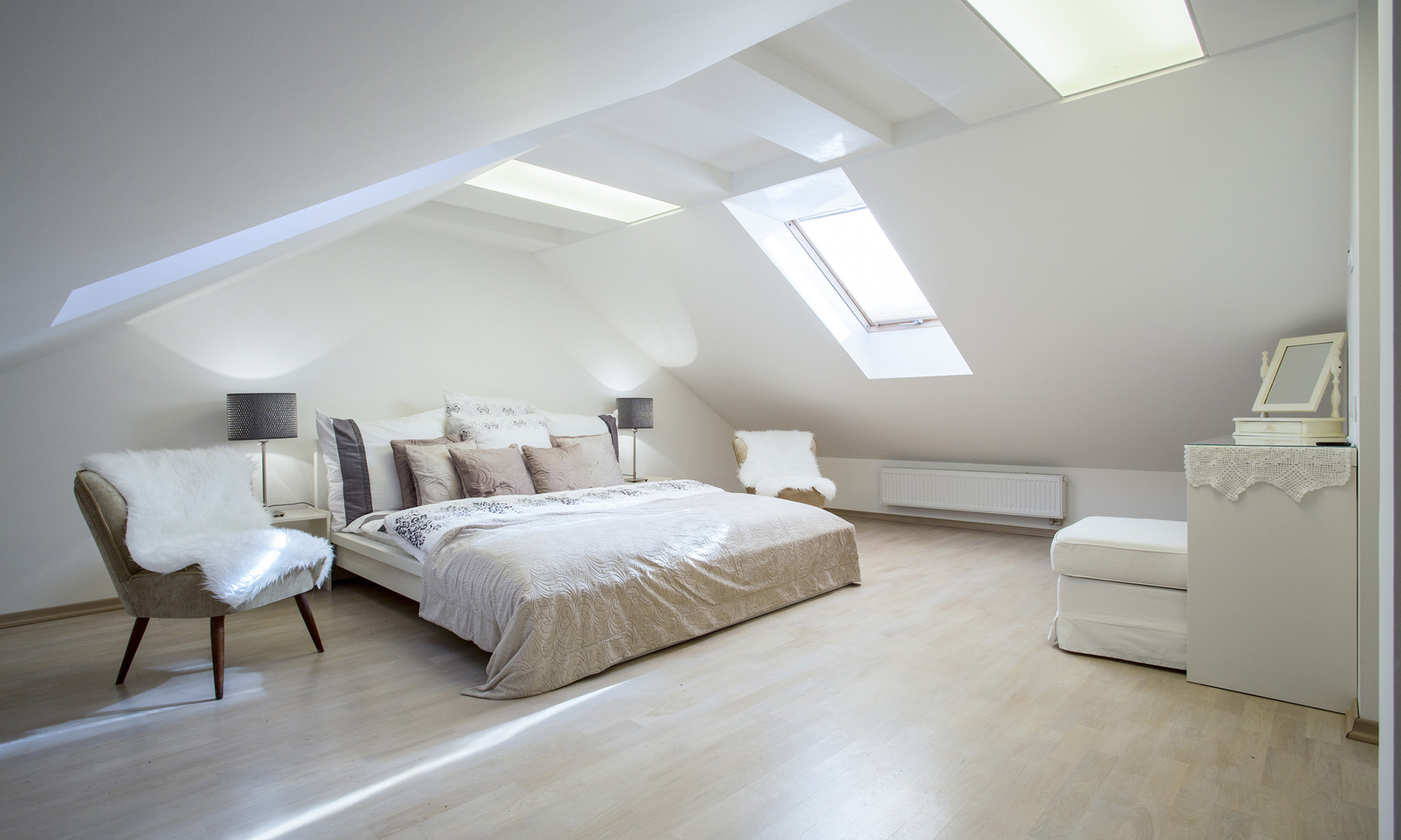 Double bedroom loft conversion