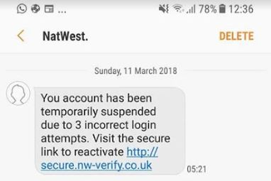Santander Halifax And Natwest Avoid The Latest Bank Scam Texts Which News