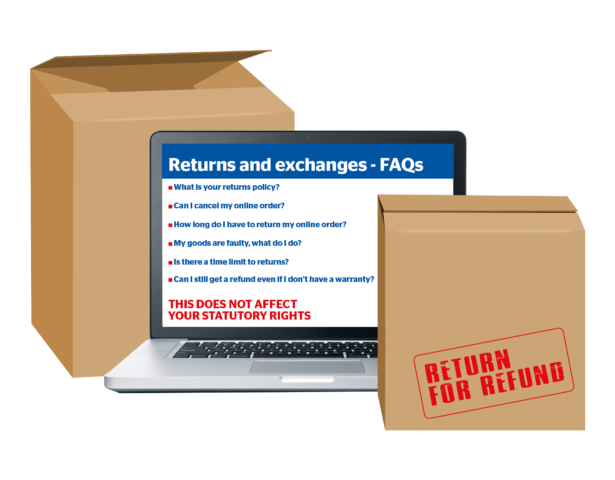 Returns and exchanges FAQs