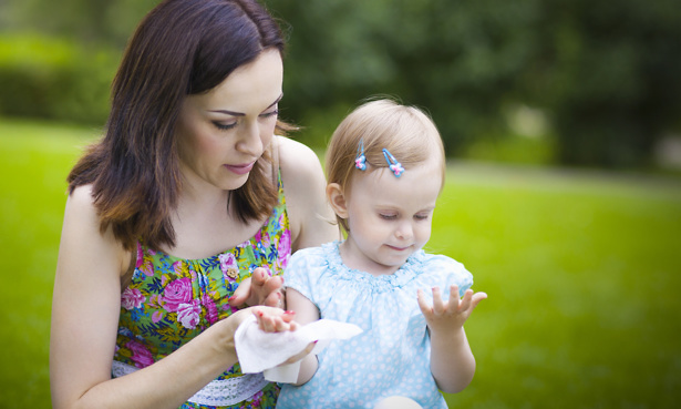 Baby Wipes May Trigger Food Allergies In Children Which