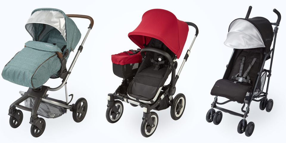 5 pushchairs with party tricks parents will love