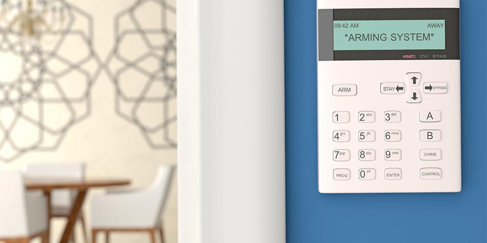 Modern burglar alarm