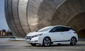 New Nissan Leaf aces new car safety test