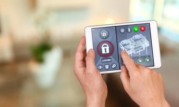 Hand controlling smart burglar alarm system