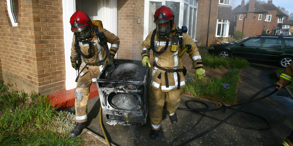 Retailers' advice exposes millions to tumble dryer fire danger