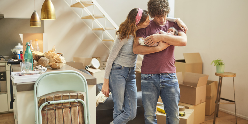 Average homebuyer mortgage is two-thirds of house price – which rooms do you own?