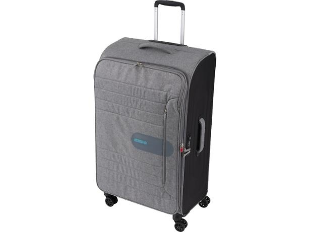 9c7c837f9d52a You get a lot for your money as well – this soft-sided suitcase is  absolutely enormous. The expandable body means that the already sizeable ...
