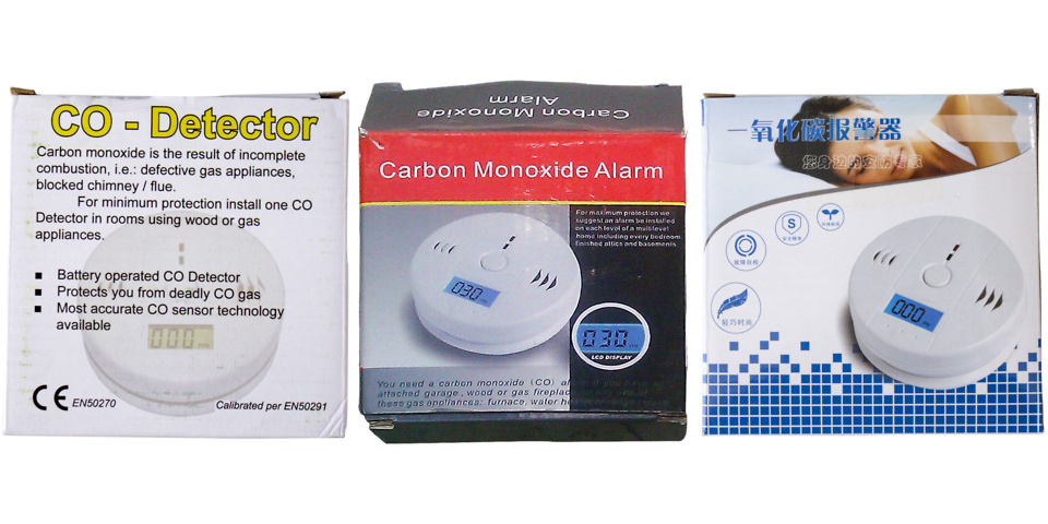 The lethal carbon monoxide alarms we found on Amazon and Ebay
