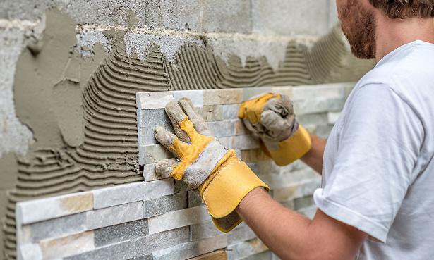 Tradesman tiling