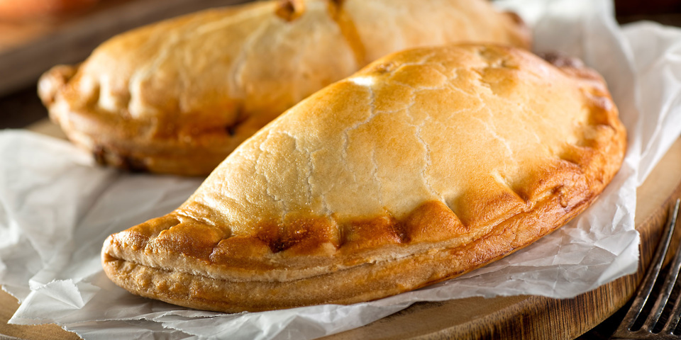 Fresh Cornish pasties