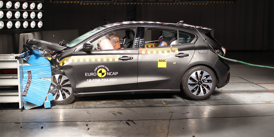Ford Focus and Volvo XC40 get top rating in Euro NCAP safety tests