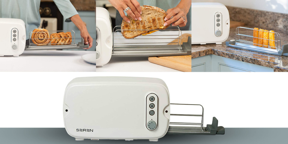 Seren side-loading toaster: is this the future of toasting?
