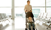 Pushchairs on planes: check these airline restrictions