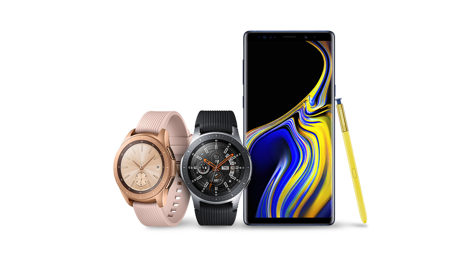 samsung watch with note 10