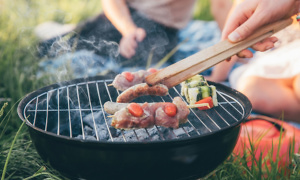Take your BBQ on the go with a portable grill