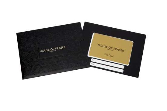 House of Fraser gift card