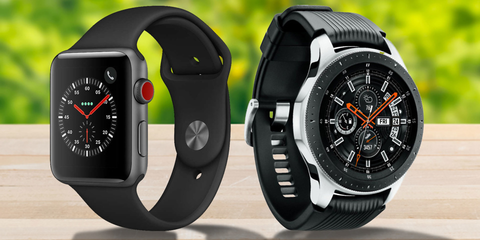 samsung galaxy watch vs apple watch vs gear s3 which smartwatch