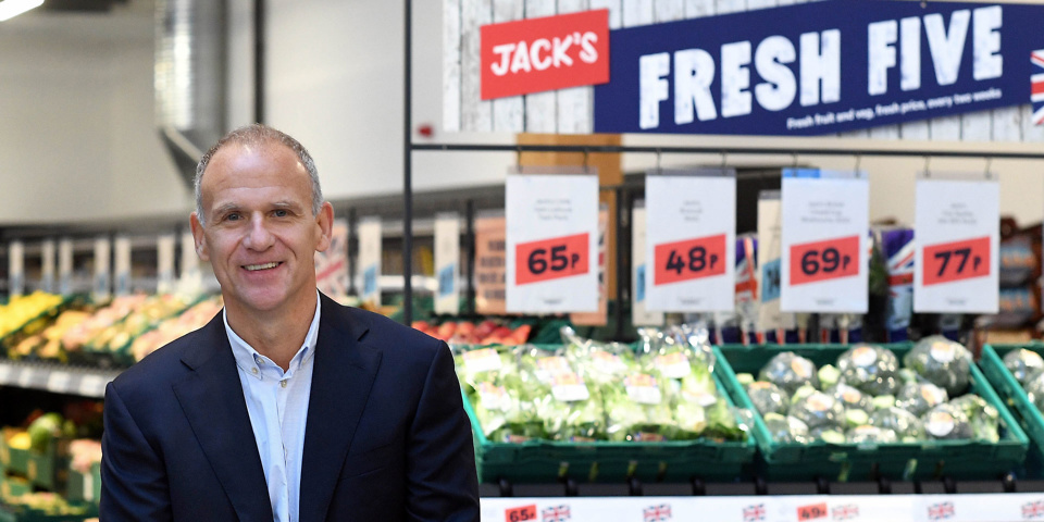 Tesco launches Jack's discount chain and own brand