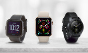 Apple Watch Series 4 vs Fitbit Versa vs Samsung Galaxy Watch