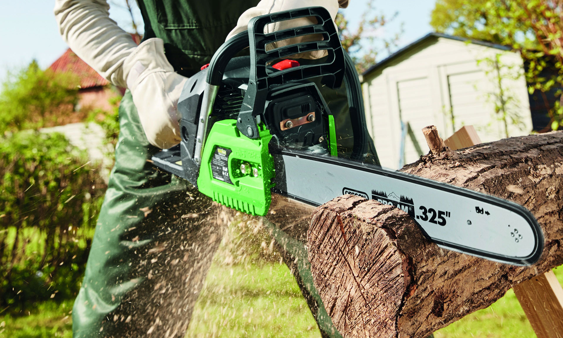is lidl's £80 petrol chainsaw worth buying? – which? news