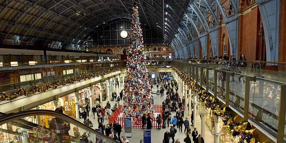 want to travel by train as cheaply as possible over the festive season nows the time to start booking advance tickets - Cheap Christmas