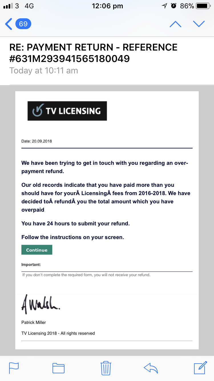 More than £830k lost to TV Licensing scam – Which? News