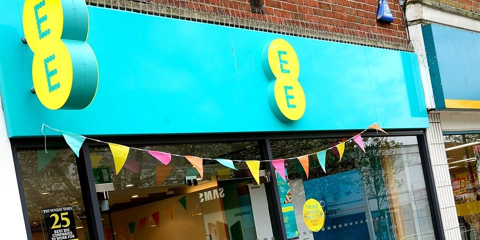 EE on top for mobile provider 4G performance in latest UK study