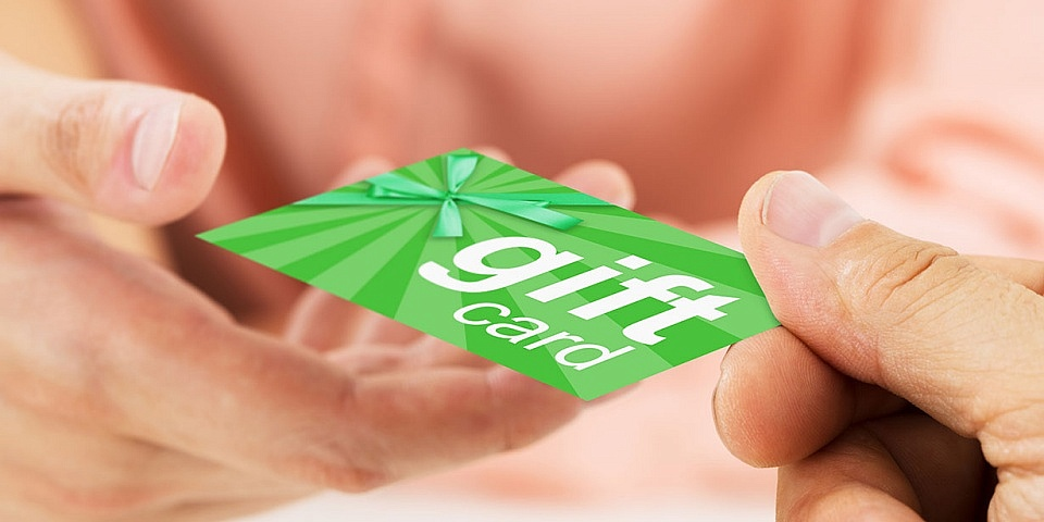 Five reasons to think twice before giving gift cards this Christmas