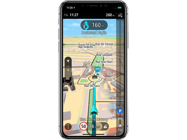 Does TomTom's sat nav app spell the end for windscreen sat navs