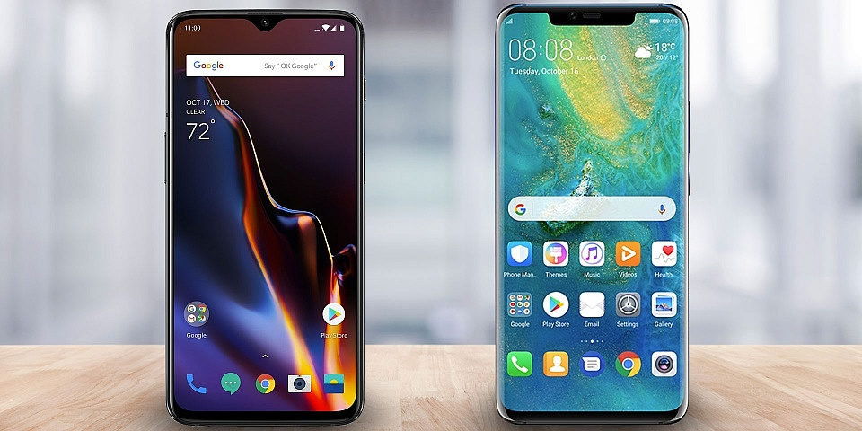 Huawei Mate 20 Pro vs OnePlus 6T: which in-screen fingerprint sensor is faster?