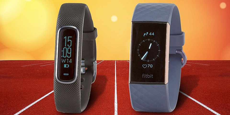 Garmin Vivosmart 4 vs Fitbit Charge 3: activity trackers put through their paces