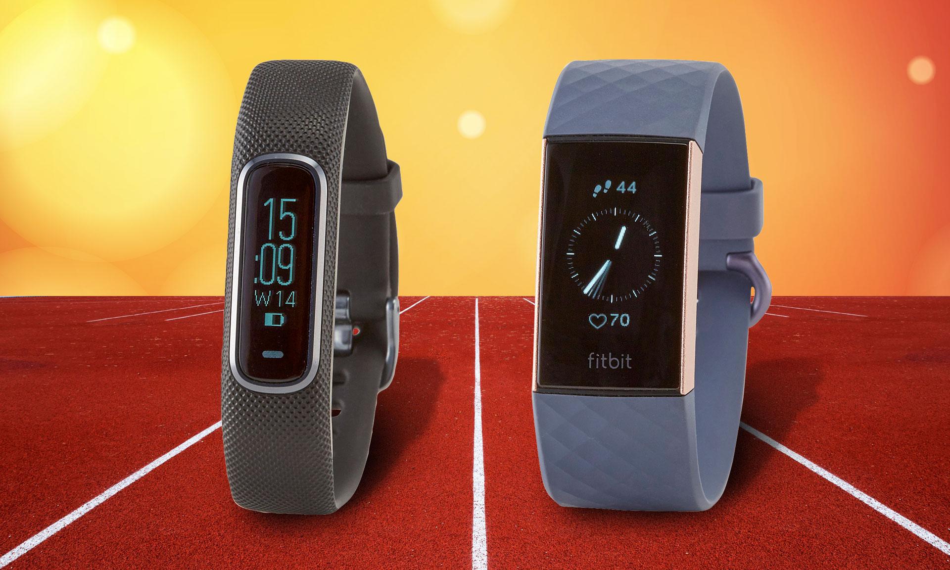 Garmin Vivosmart 4 vs Fitbit Charge 3: activity trackers put through